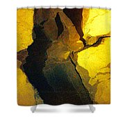 Magical Yellow 6 Shower Curtain