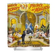 Magician Poster, C1895 Shower Curtain