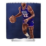 Magic's Return Shower Curtain by Jeremy Nash