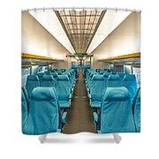 Maglev Train In Shanghai China Shower Curtain