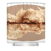 Magnetic Field Of Milky Way Galaxy Shower Curtain