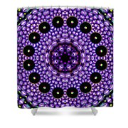 Magnetic Twins Shower Curtain