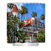 Magnificent Hotel Del Shower Curtain