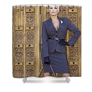 Magnificent Obsession Palm Springs Shower Curtain