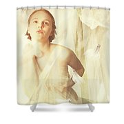 Magnolia Belle Shower Curtain