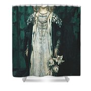 Magnolia Shower Curtain by James Shannon