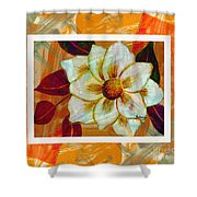 Magnolia Seduction Shower Curtain