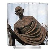 Mahatma Gandhi In Washington Shower Curtain