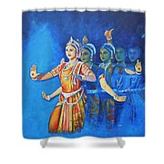 Mahishaasura Mardini Shower Curtain
