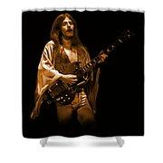 Mahogany Rush Seattle #1 Enhanced In Amber Shower Curtain