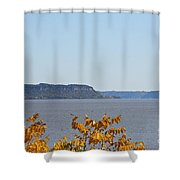 Maiden Rock Shower Curtain