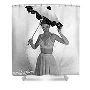 Maidenform Etude Bra Ad Shower Curtain