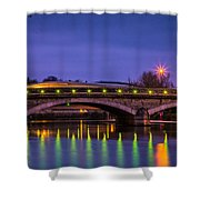 Maidstone Bridge Shower Curtain
