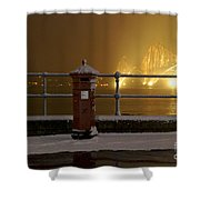 Mail Post Shower Curtain