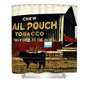 Mail Pouch-4 Shower Curtain