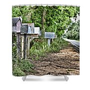 Mail Route Shower Curtain