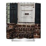 Mail Slot Shower Curtain