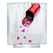 Mailing You Love Shower Curtain