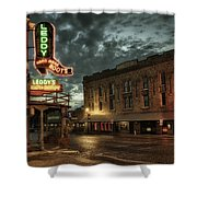 Main And Exchange Shower Curtain