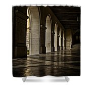 Main Building Arches University Of Texas Shower Curtain
