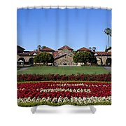 Main Quad Stanford California Shower Curtain