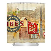 Main Street Signs Shower Curtain