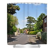 Main Street -ticknall Village Shower Curtain