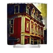 Main Street Usa Shower Curtain