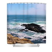 Maine 2002 B Shower Curtain