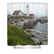 Maine Coastline  Shower Curtain
