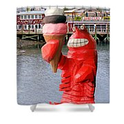 Maine Ice Cream Shower Curtain