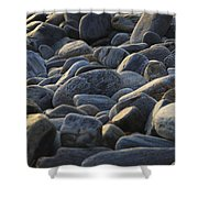 Maine Rocks 1 Shower Curtain