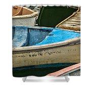 Maine Rowboats Shower Curtain