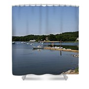 Maine Seascape Shower Curtain