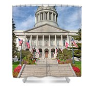 Maine State House V Shower Curtain