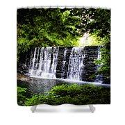 Mainline Waterfall Shower Curtain