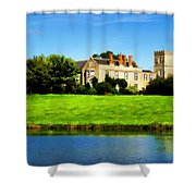 Maisemore Court And Church Shower Curtain