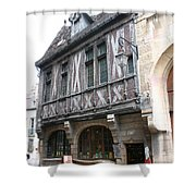 Maison Milliere - Dijon - France Shower Curtain