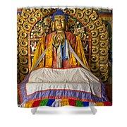 Maitreya Buddha Erdene Zuu Monastery Shower Curtain