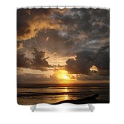 Majestic Sunset Shower Curtain