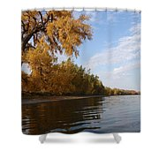 Majestic Cottonwood Shower Curtain