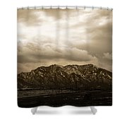 Majestic Flatirons Shower Curtain