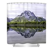 Majestic Grand Tetons Shower Curtain