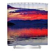 Majestic Idaho Shower Curtain