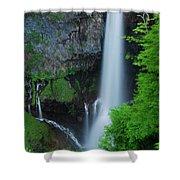 Majestic Kegon Falls Shower Curtain