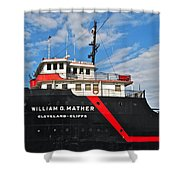 Majestic Mather Shower Curtain
