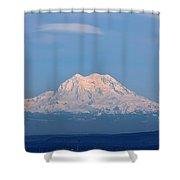 Majestic Mt. Rainier Shower Curtain