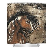 Majestic Mustang Series 61 Shower Curtain