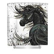 Majestic Spirit Horse  Shower Curtain