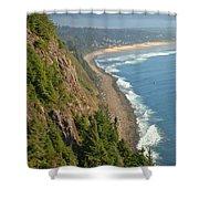 Majestic Oregon View Shower Curtain